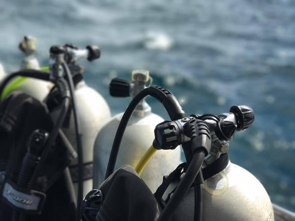 タイ プーケット ダイビング 器材
